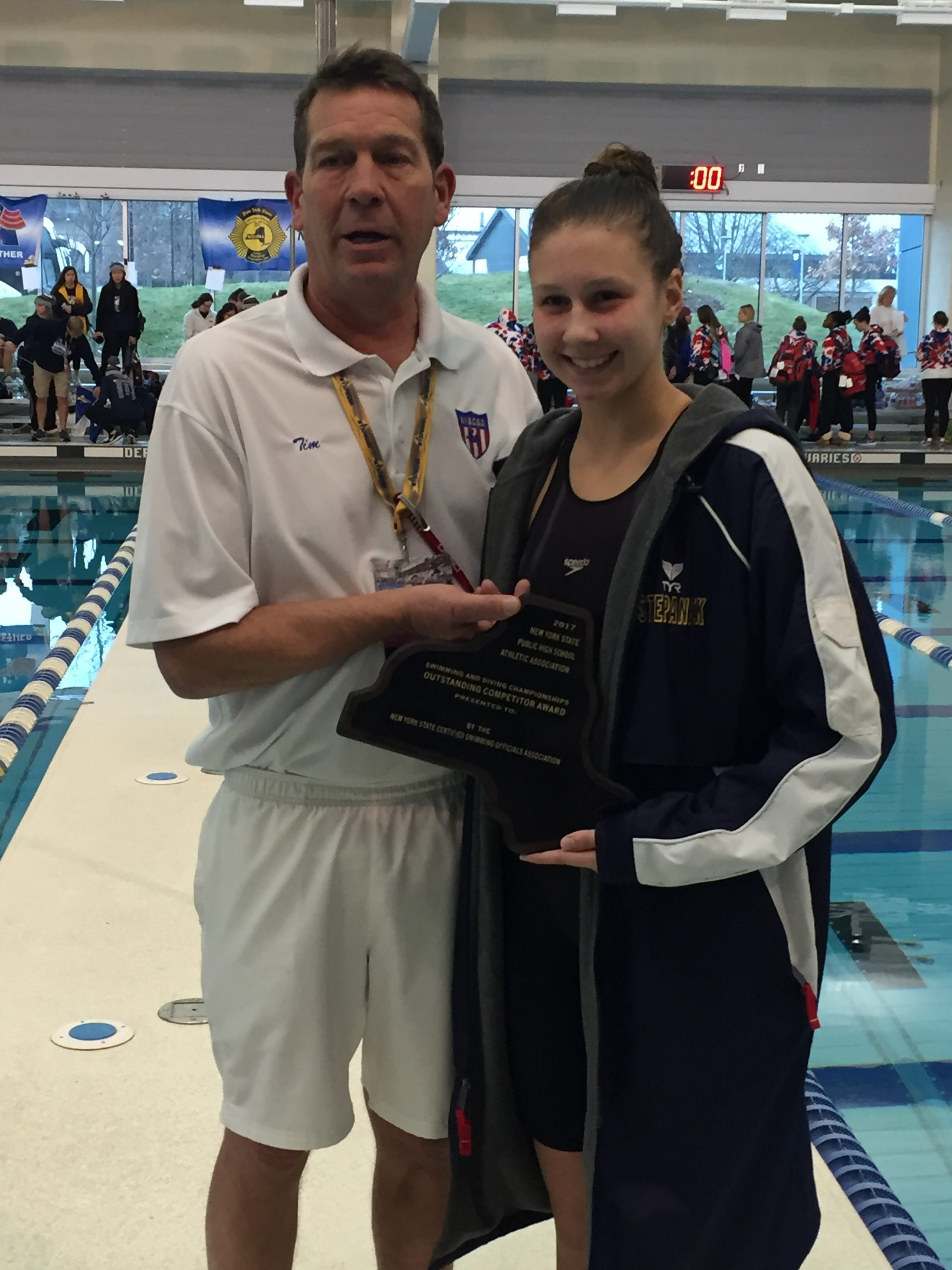 NYSPHSAA Swimming & Diving Championship Results | Section ...